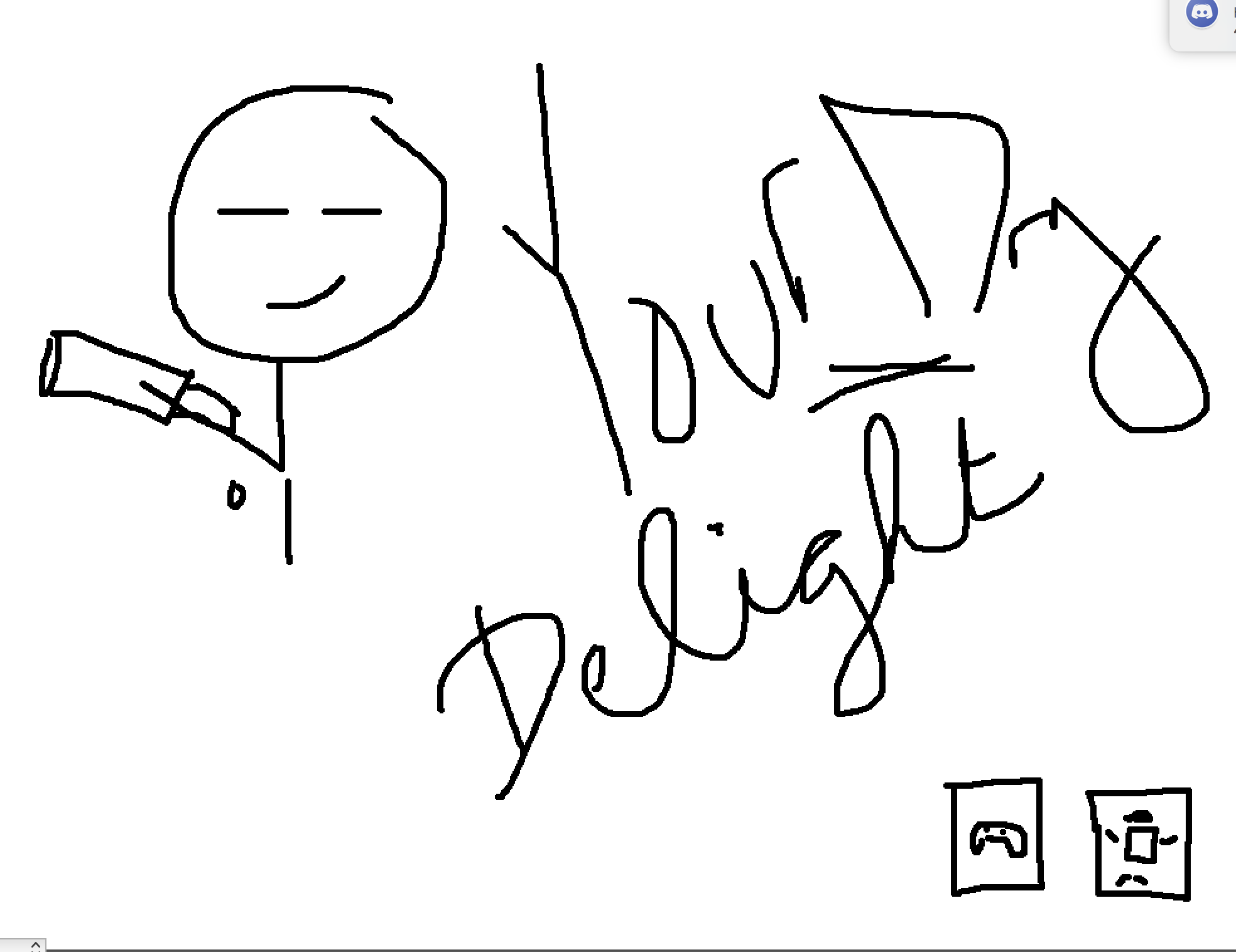 Front of a postcard design for Your Dry Delight