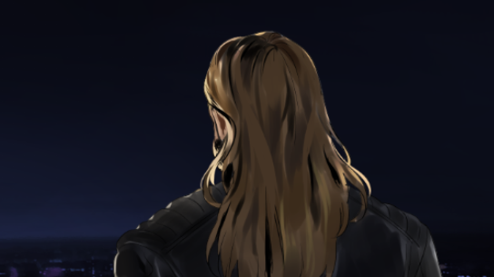 Back of Randals head