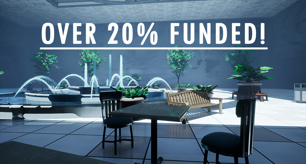 20% funded