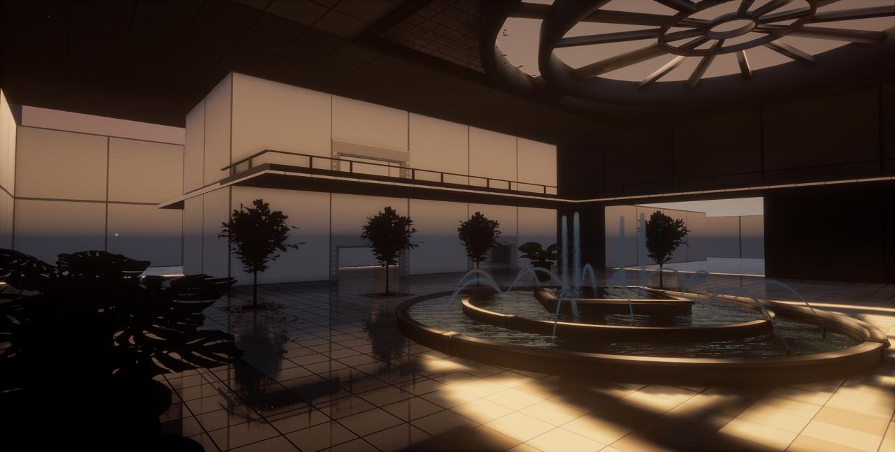 Screenshot of mall second floor